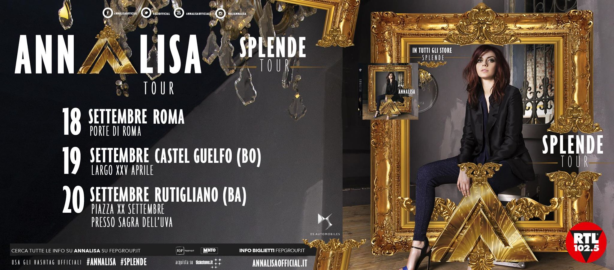 Splende Tour 2015 - Annalisa